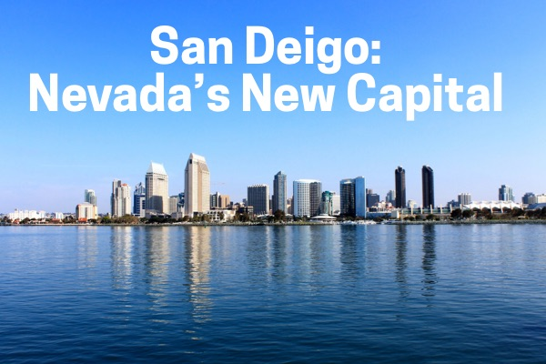 "Lindsey Barrow declared San Diego the capital of Nevada.  In an unprecedented move some have called ""out of her jurisdiction"" and ""who is Lindsey Barrow""."